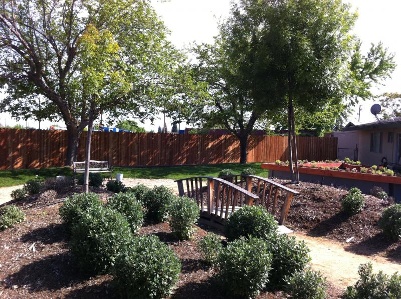 The Rehab Park lets patients enjoy outdoor therapy.